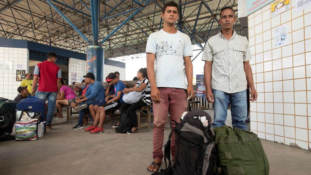 A la frontera con Brasil llegan diariamente decenas de migrantes venezolanos.