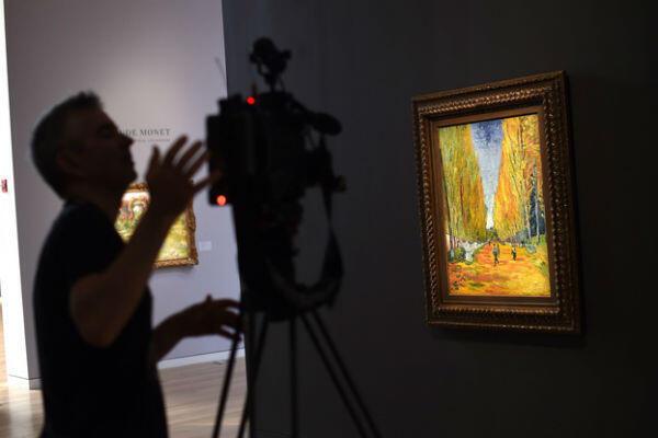 """""""L'allée des Alyscamps"""", Vincent Van Gogh"""