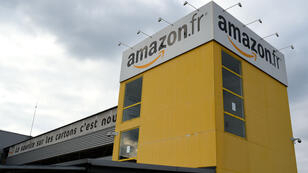 Le centre de distribution Amazon à Saran, dans le Loiret, en 2016.