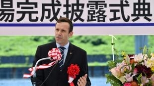 Jean-Christophe Rolland, president of the World Rowing Federation, praised organisers for completing the Olympic venue ahead of schedule for the 2020 Tokyo Games