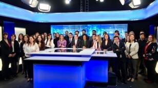 A Bogotá, une équipe de 32 journalistes produit les contenus de France24 en espagnol