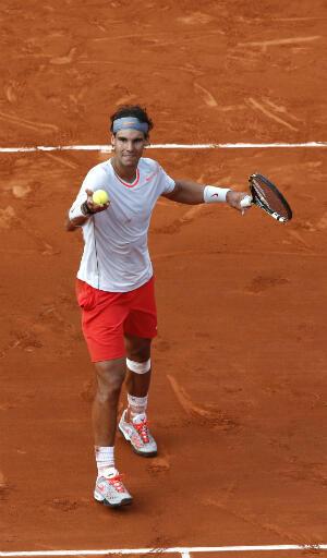 Rafael Nadal, qualifié pour les demi-finales