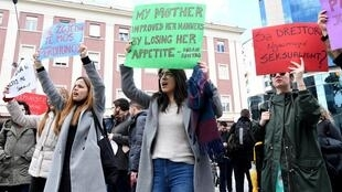 Albania's parliament recently tightened the penalties for domestic violence
