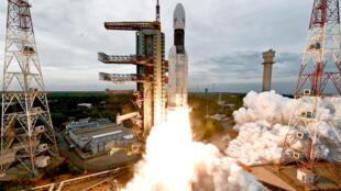 La expedición tiene como objetivo aterrizar un robot móvil en este polo, así como colocar una sonda en órbita lunar.
