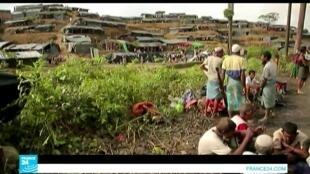 وضع مزر للاجئين الروهينغا في مخيمات ببنغلادش.