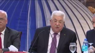 """2020-01-29 10:06 Plan de paix au Proche-Orient : """"Jérusalem n'est pas à vendre, nos droits ne sont pas à vendre"""""""