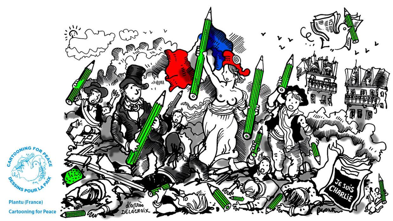 L'actu en dessin : les dessinateurs de presse fers de lance de la liberté d'expression