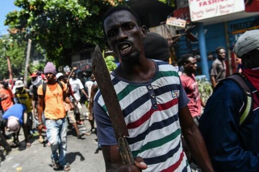 Violent protests shake Haiti's capital