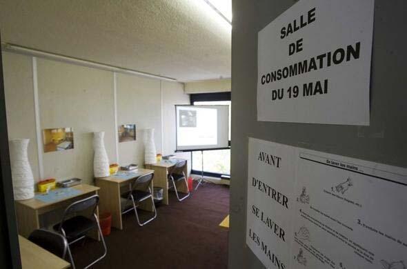 Un centre expérimental, ouvert en mai 2009 à Paris par l'Asud pour sensibiliser les pouvoirs publics.
