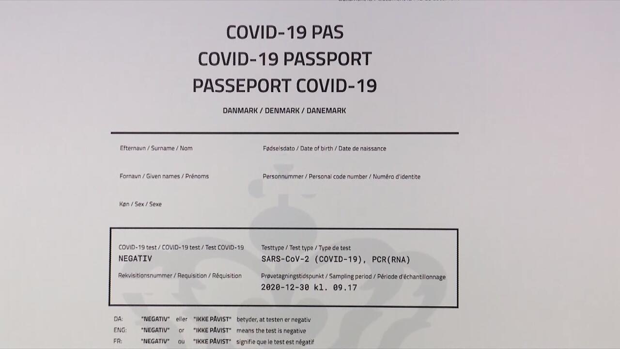 Denmark, Sweden to issue digital vaccine 'passports'