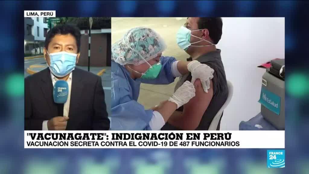 2021-02-17 13:32 Informe desde Lima: Iglesia católica se ve salpicada por el 'vacunagate'
