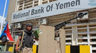Des combattants séparatistes prennent le contrôle d'Aden, le 30 janvier 2018 au Yémen.