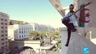 """Capture d'écran d'un clip accompagnant la chanson """"La Casa del Mouradia"""""""