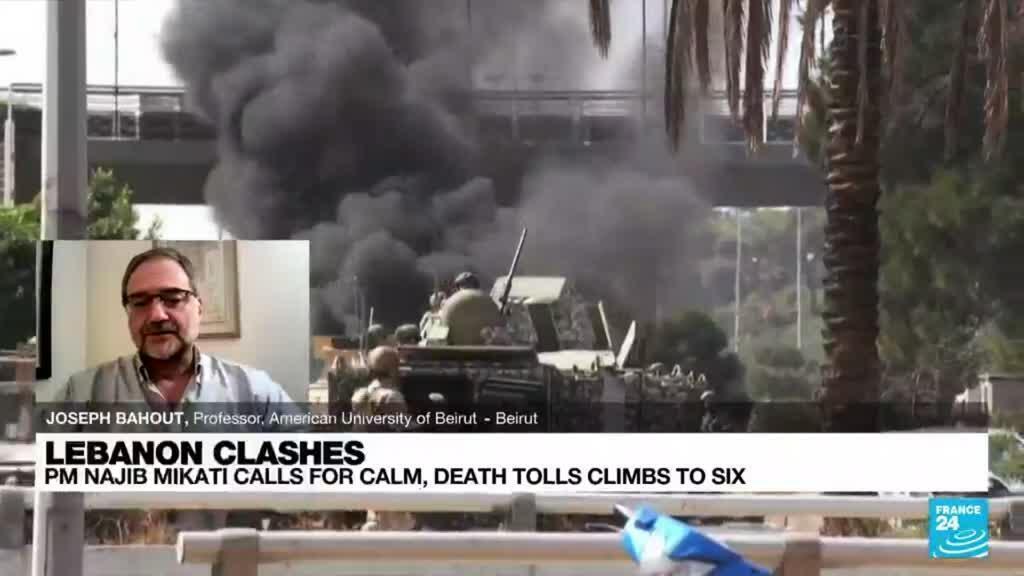 2021-10-14 21:03 Beirut port explosion probe: Lebanese PM facing 'Shakespearean dilemma'