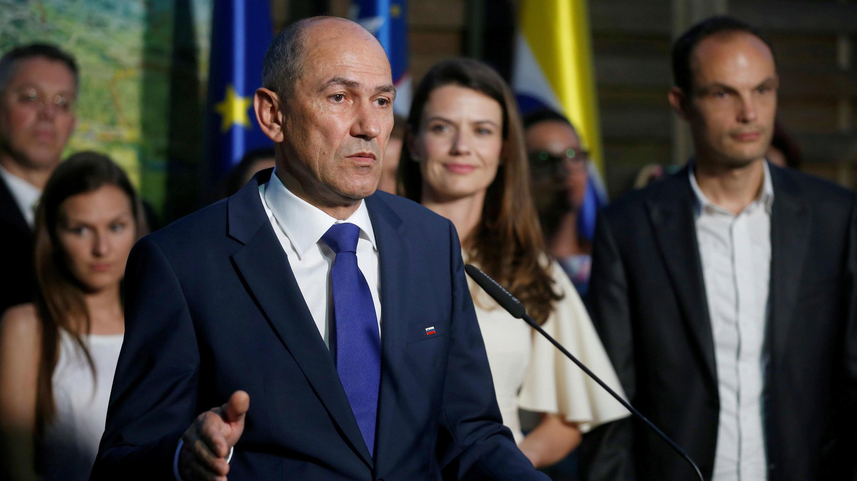 Pese a las acusaciones por corrupción contra el ex primer ministro, Janez Jansa,  su fomración política obtuvo la mayoría de los votos en las parlamentarias en Eslovenia