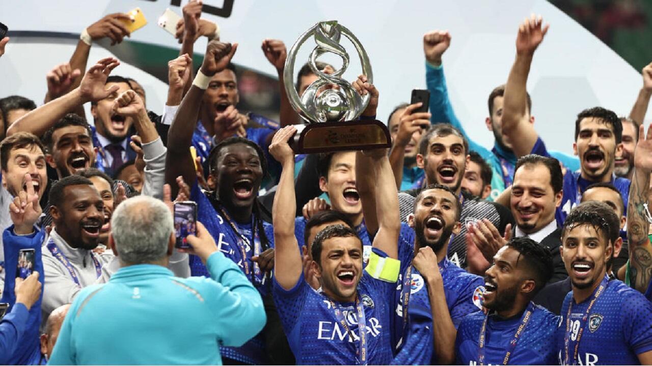 الهلال السعودي يحرز دوري أبطال آسيا على حساب أوراوا. اليابان 24 نوفمبر/تشرين الثاني 2019.