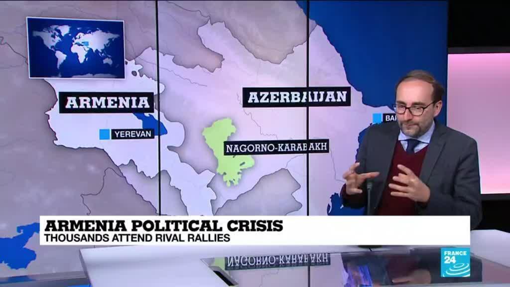 2021-03-02 11:04 Armenia's political tensions rise amid rival rallies
