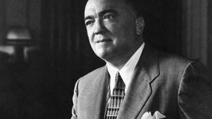 J. Edgard Hoover, patron du FBI de 1935 à 1972