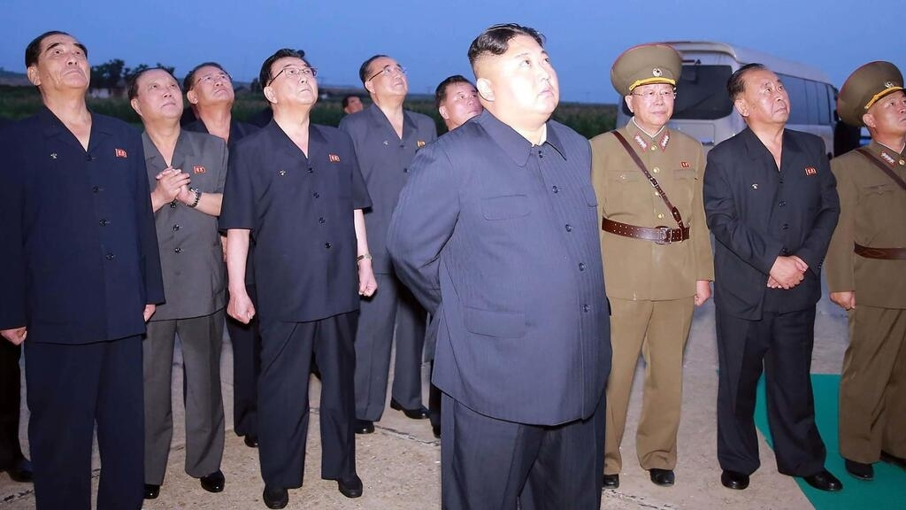 North Korea says missile launch was 'warning' against joint US-South
