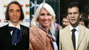 Quelques-un des investis : le mathématicien Cédric Villani, l'ancienne torera Marie Sara et Gaspard Gantzer, conseiller de Hollande.