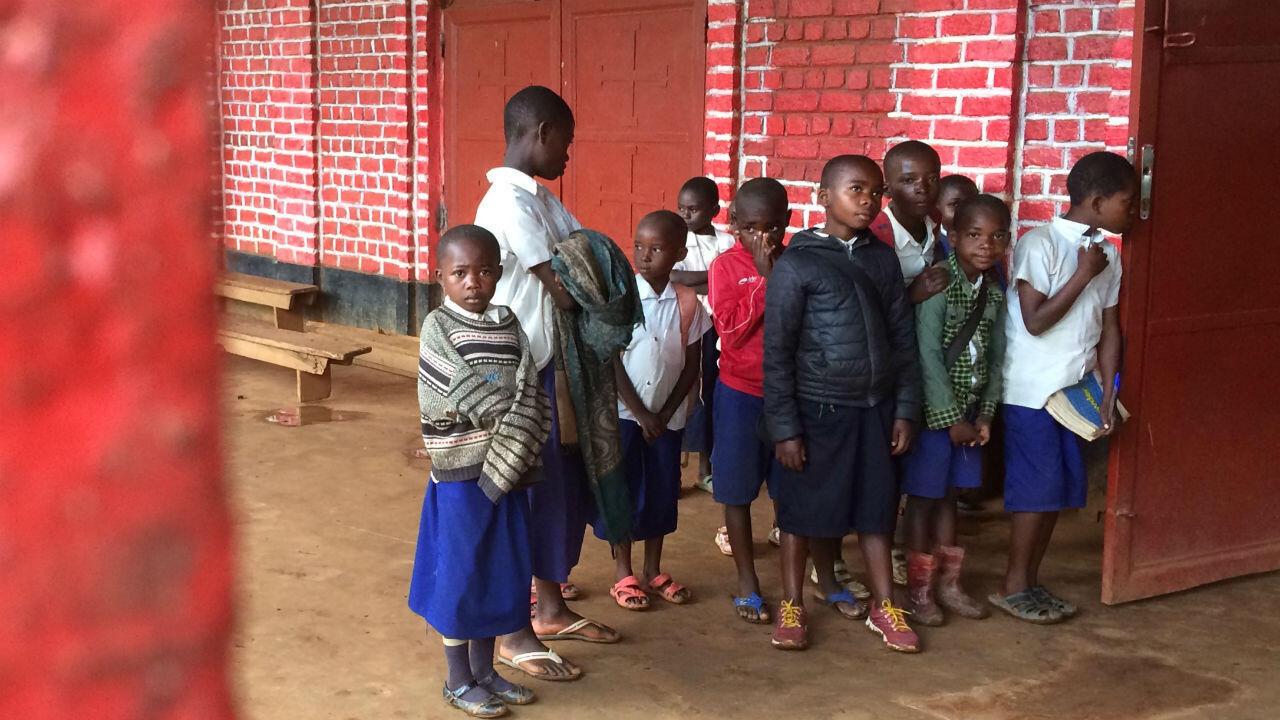 School children in Kaniola
