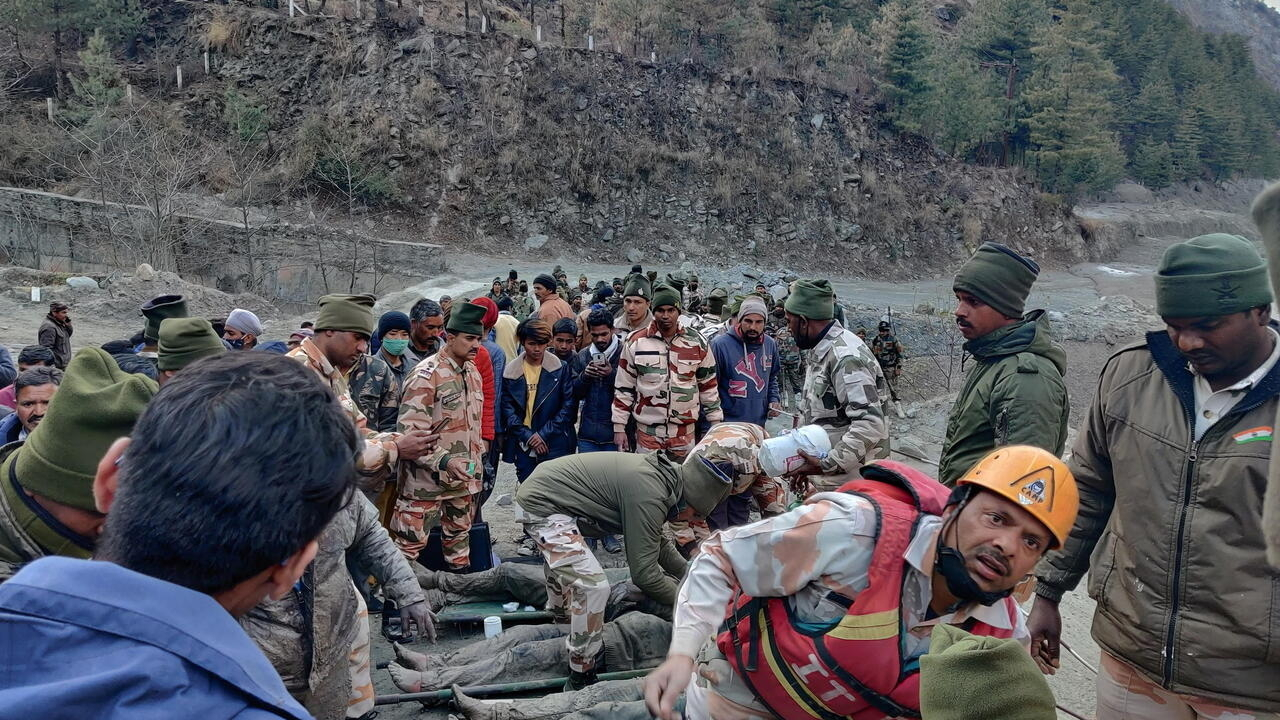 Rescuers seek for lacking after Himalayan glacier bursts dam in India