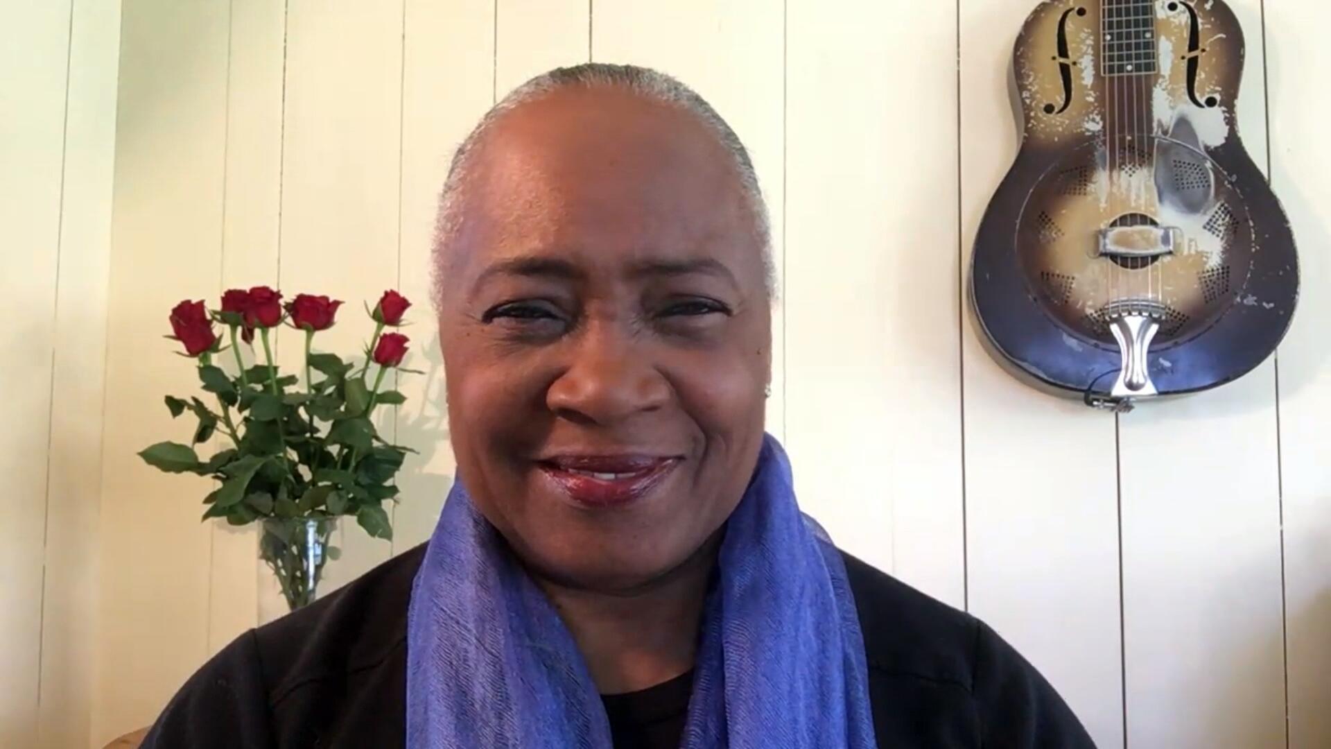 Barbara Hendricks, cantatrice et ambassadrice de bonne volonté du HCR