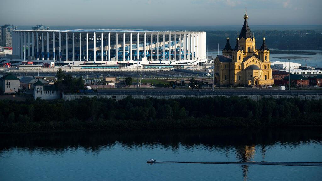 Nijni Novgorov, métropole au confluent de la Volga et de l'Oka.