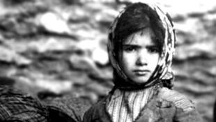 لاجئة أرمنية في بيروت