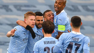 Blue moon rising: Manchester City have reached the Champions League final for the first time in their history