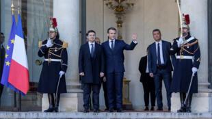 Zelensky-Macron