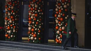 Le Dorchester Hotel, à Londres, où a eu lieu le gala, photographié en décembre 2015.