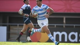 Jeronimo de la Fuente has scored seven tries in 54 Argentina appearances
