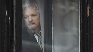 L'Australien Julian Assange est réfugié dans l'ambassade d'Équateur à Londres depuis juin 2012.