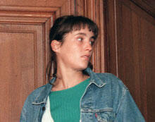 Florence Rey à son procès en 1998