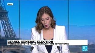 2021-03-23 14:03 Analysis: Israeli poll is referendum on Netanyahu