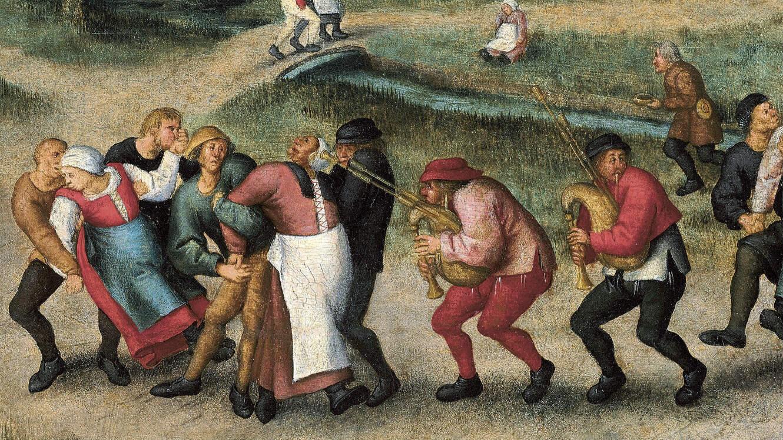 Pèlerinage des épileptiques de Moelenbeek, Bruegel le Jeune, 1592.