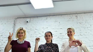 President Lukashenko is facing an alliance of women candidates at the polls