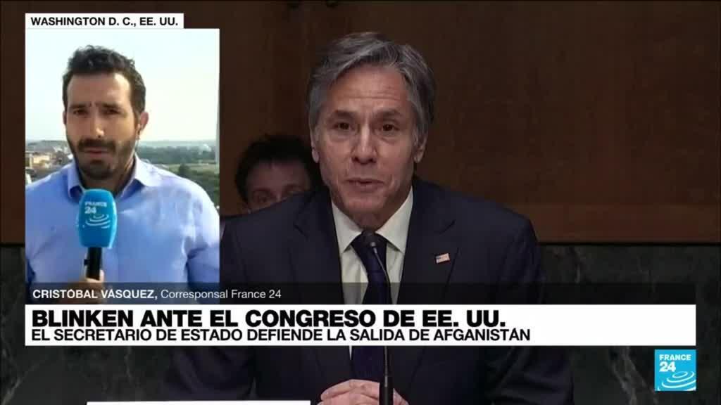 2021-09-14 22:02 Informe desde Washington: Antony Blinken busca tramitar visas especiales para afganos
