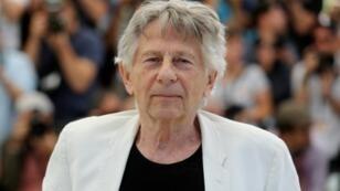 Roman Polanski à Cannes le 27 mai 2017.