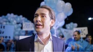 """سيباستيان كورتز وزير الخارجية وزعيم """"حزب الشعب النمساوي"""" اليميني"""