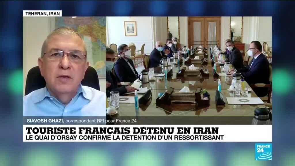 2021-02-25 10:37 Touriste français détenu en Iran : le ressortissant en détention depuis mai 2020