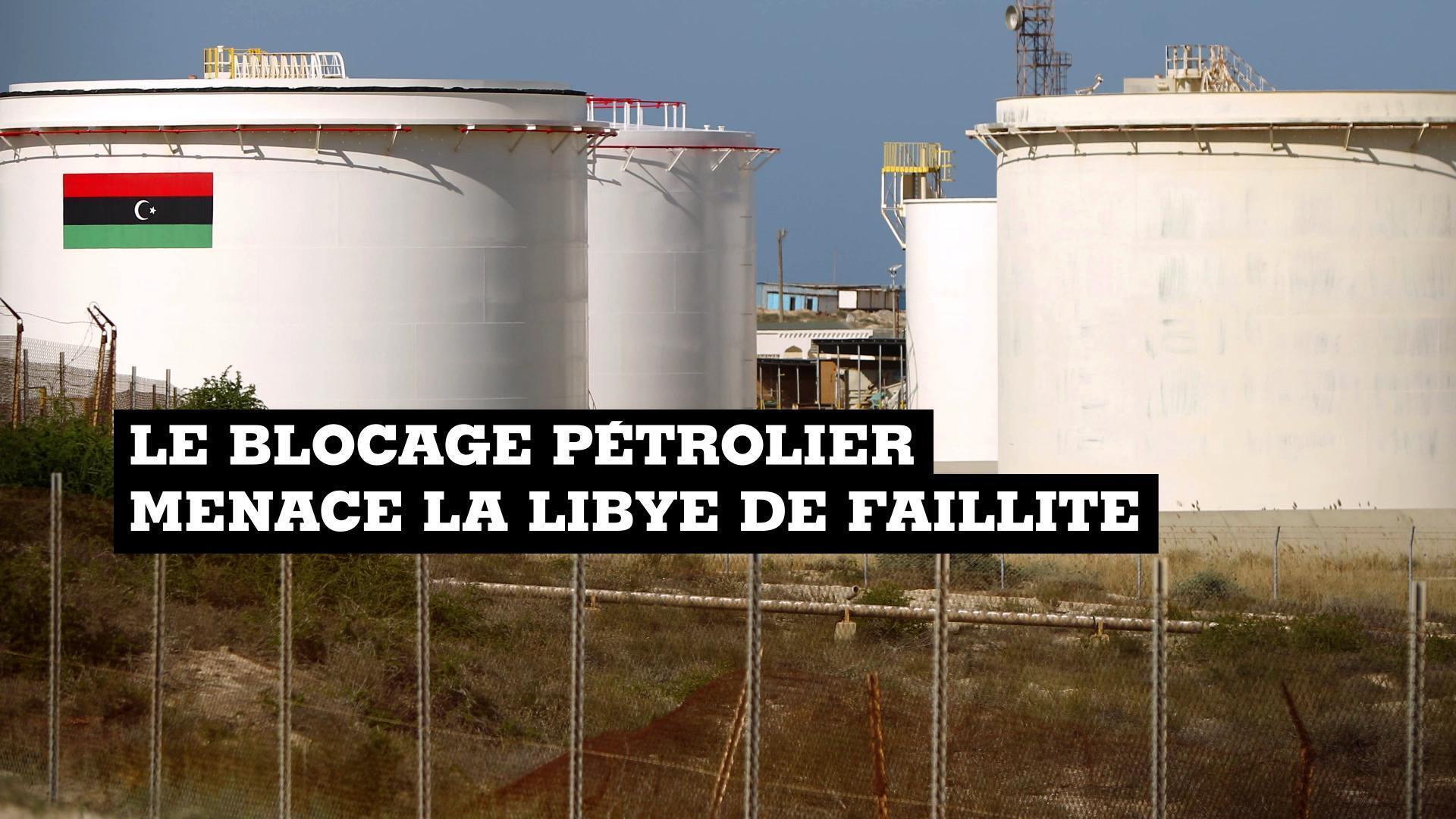 Le maréchal dissident Khalifa Haftar a ordonné le blocage des terminaux pétroliers