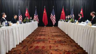 US-China summit Alaska