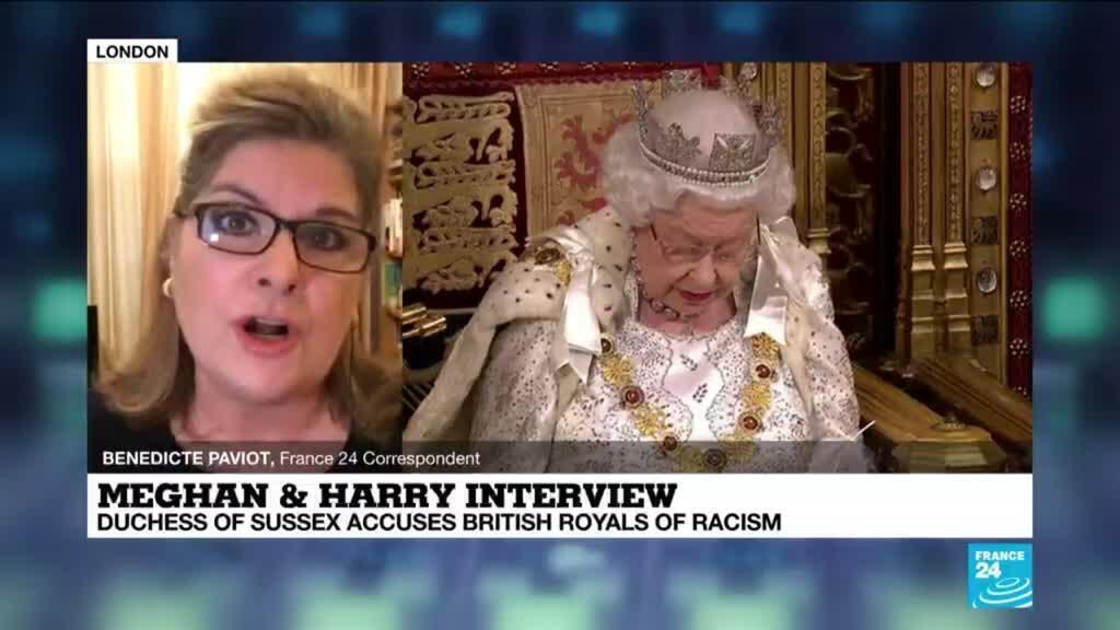 2021-03-08 09:02 UK royals absorb shock of revealing Harry, Meghan interview