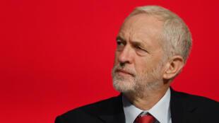 Le leader du Parti travailliste, Jeremy Corbyn, lundi 24 septembre 2018, à Liverpool.