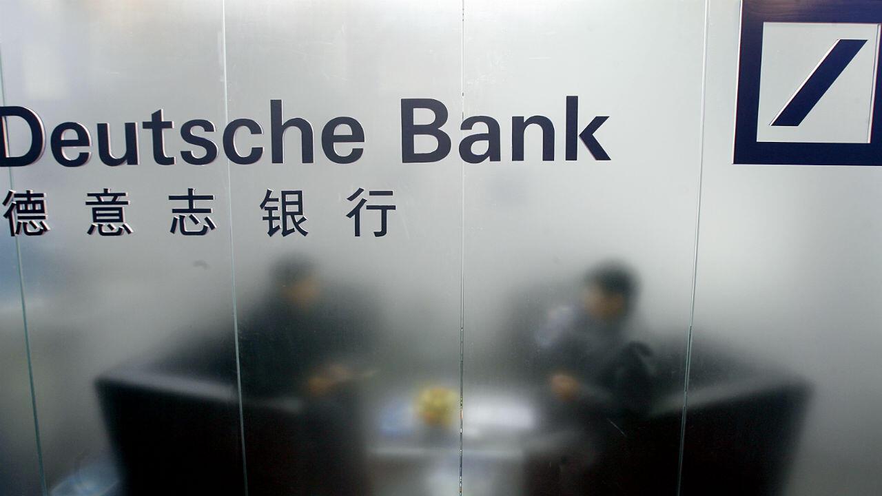 Le siège de Deutsche Bank pour ses activités en Chine se trouve à Hong Kong.