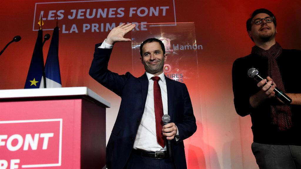 Benoît Hamon est le candidat le plus populaire chez les jeunes socialistes.