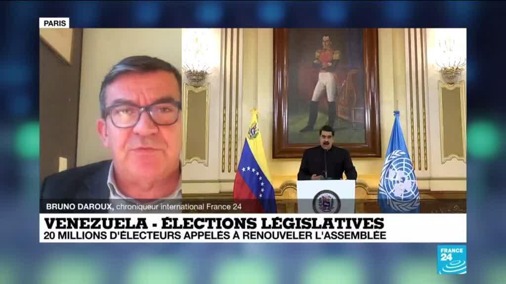 2020-12-04 15:36 Elections législatives au Venezuela : appel au boycott de l'opposition, scrutin test pour Maduro