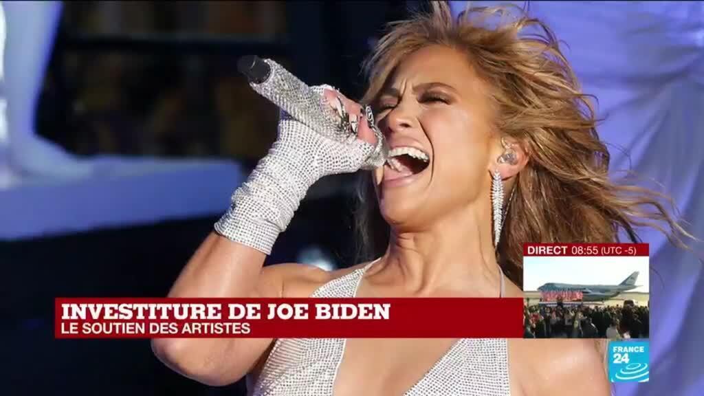 2021-01-20 14:54 Investiture de Joe Biden : le nouveau président des Etats-Unis bénéficie du soutien de nombreux artistes
